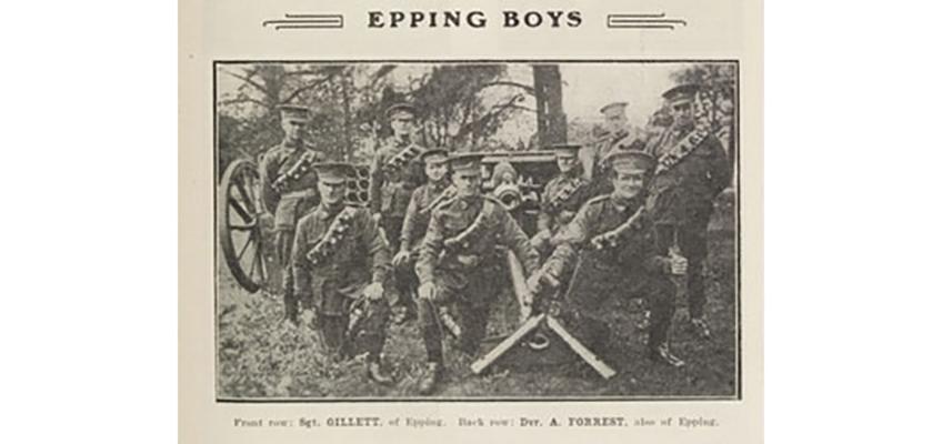 Epping war memorial