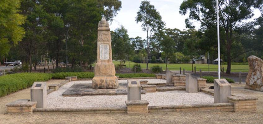 Galston war memorial