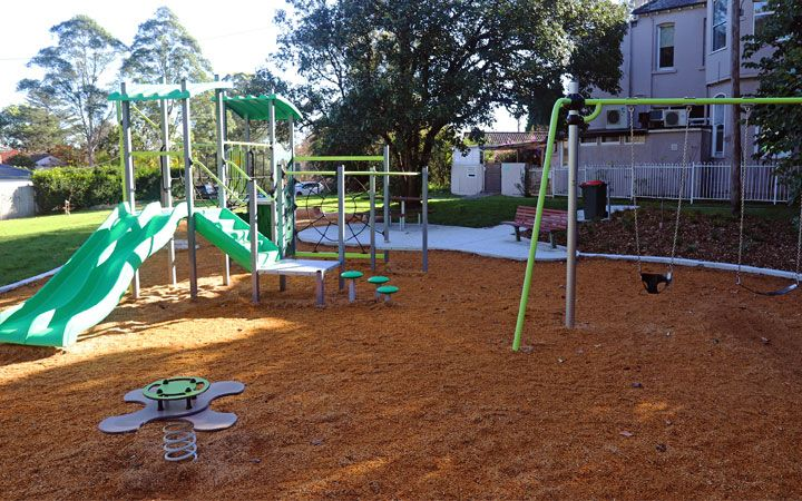 Anulla Reserve Wahroonga play equipment