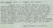 Witness Statement into the death of Ernest Jefferys