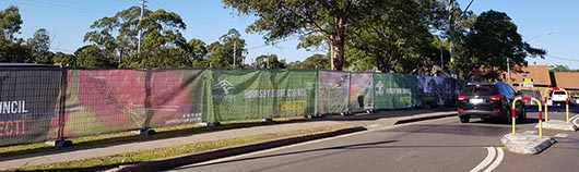 beecroft banner signage