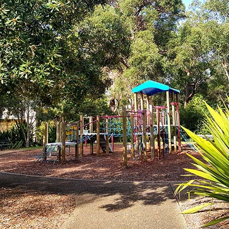 Hayes Oval Playground