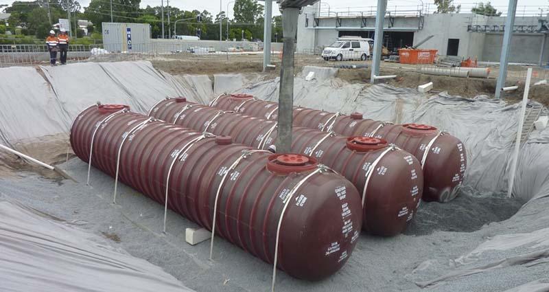 underground petroleum tanks