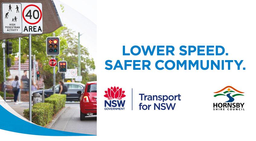 lower speed safer community