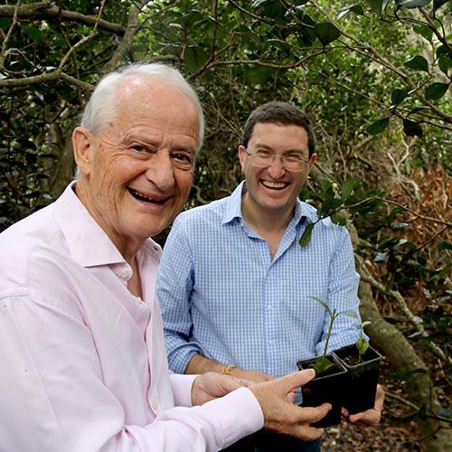 Mayor Philip Ruddock and Julian Leeser