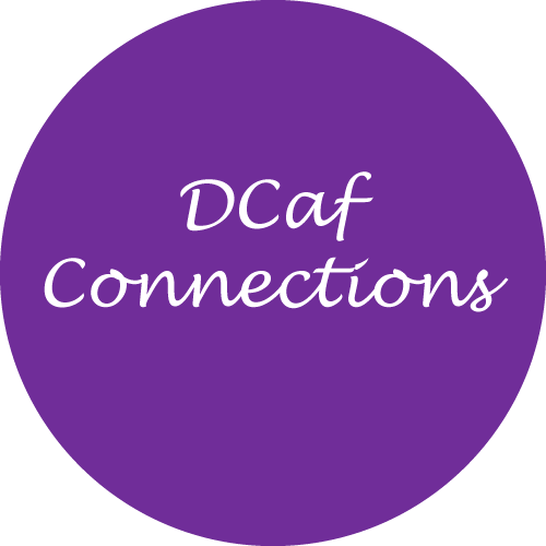 DCaf Connections logo