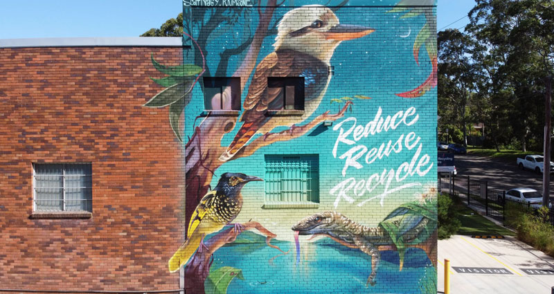 Mural - Community Recycling Centre Thumbnail