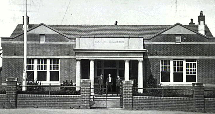 council chambers 1919