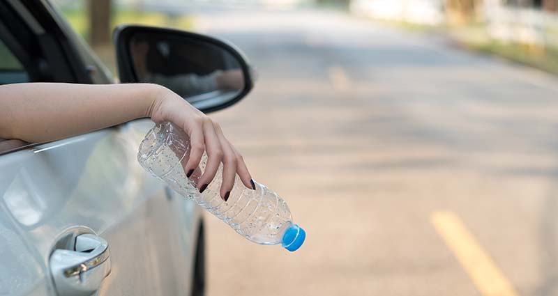 car-litter