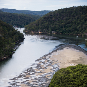 Hawkesbury River aerial photo