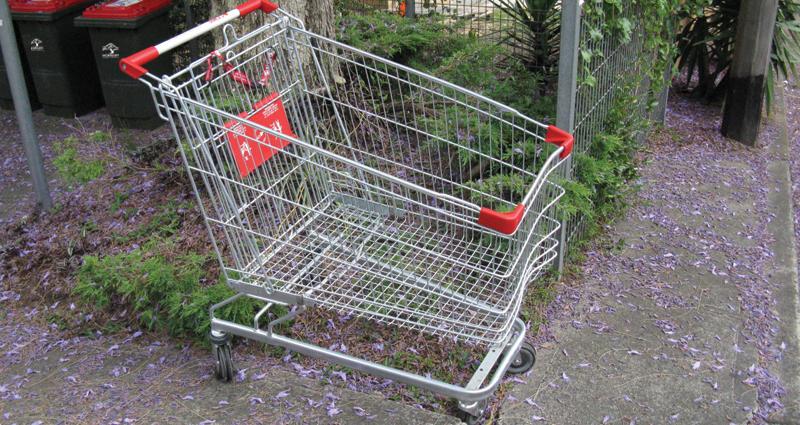 Abandoned shopping trolleys Thumbnail