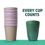 Green Caffeen cup