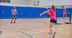 Badminton at Brickpit Sports Stadium