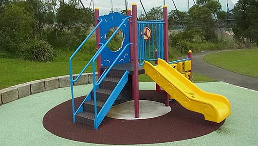 Brickpit Park playground
